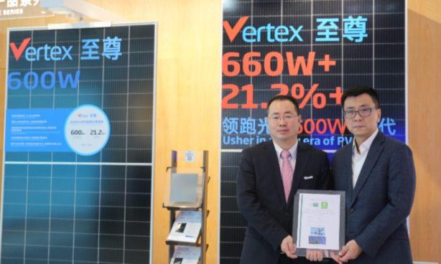Trina Solar, primer fabricante fotovoltaico en obtener doble Certificación en Protección del Medio Ambiente