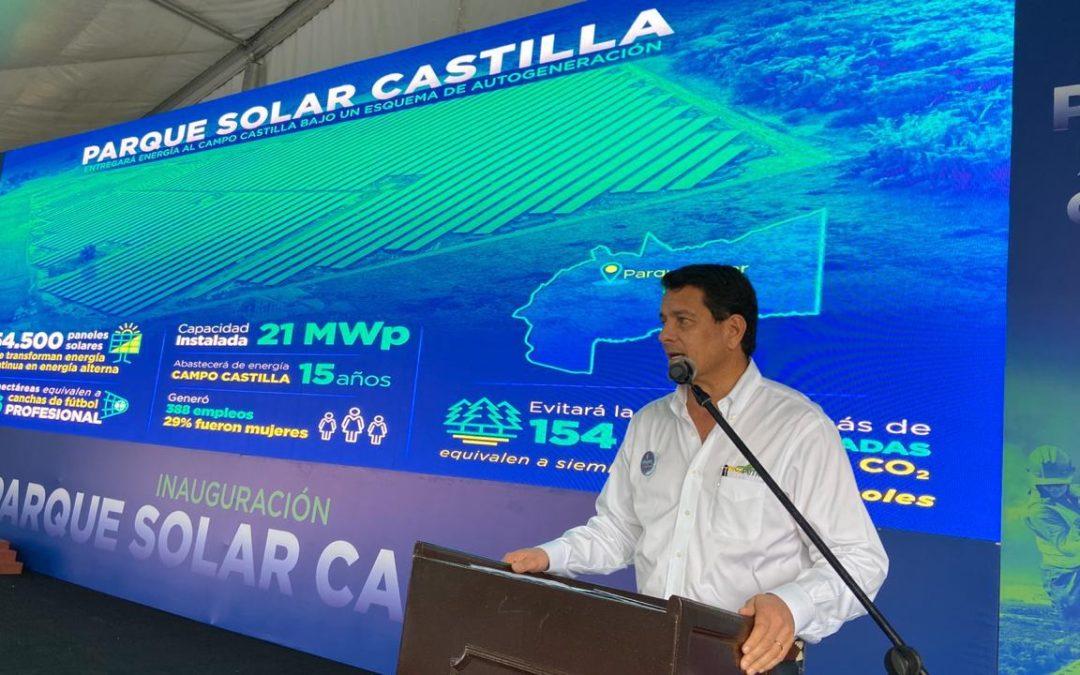 Para fin de año Ecopetrol tendrá listo seis parques fotovoltaicos más por 45 MW en Colombia