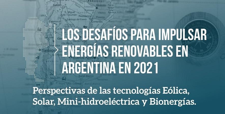 CADER invita al debate para analizar desafíos de las energías renovables en Argentina 2021