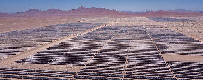 Chile: Acciona registra un 86% de avance en la construcción de las plantas fotovoltaicas Malgarida I y II