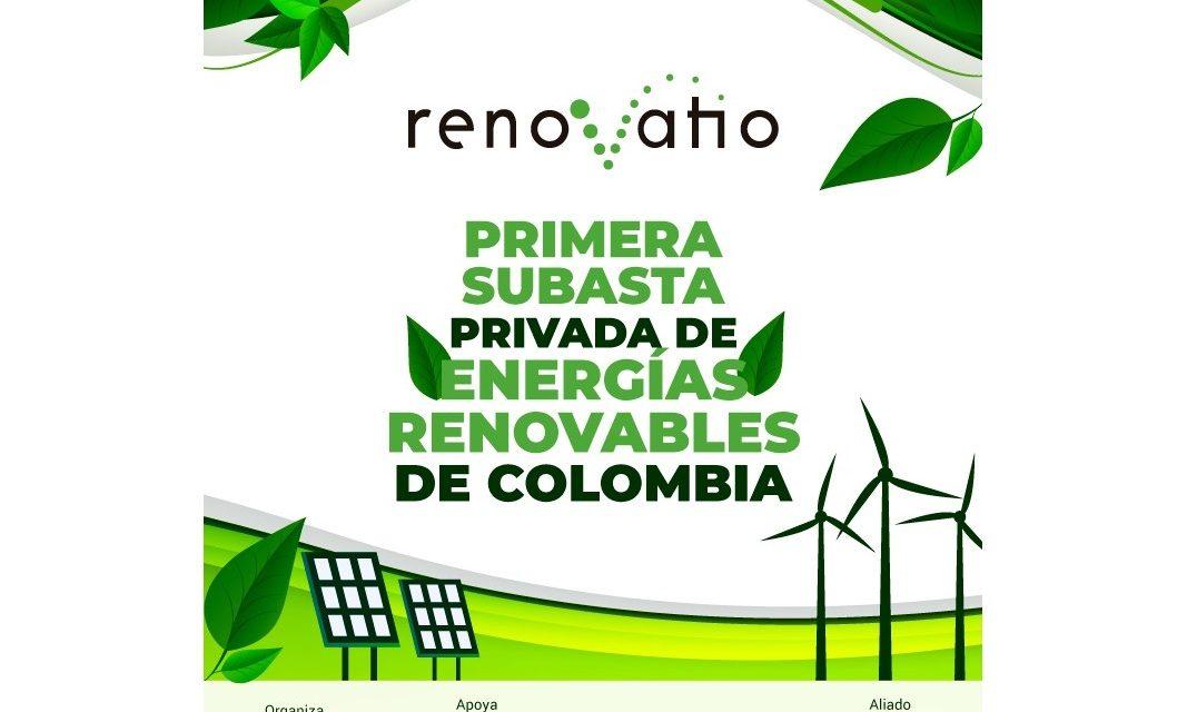 Colombia: Renovatio recibió ofertas por más de 100 MW en su subasta de energías renovables