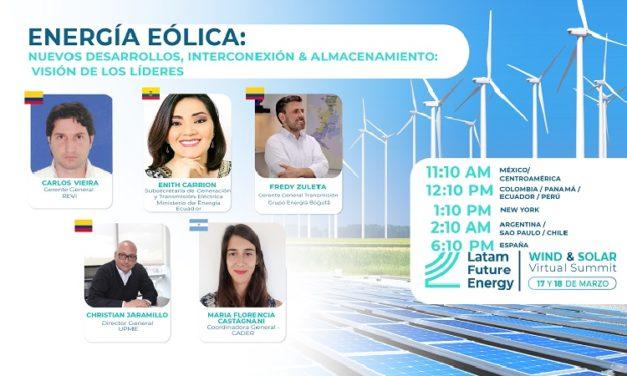 Anunciarán líneas de transmisión para nuevos proyectos de energía renovable en Latam Future Energy