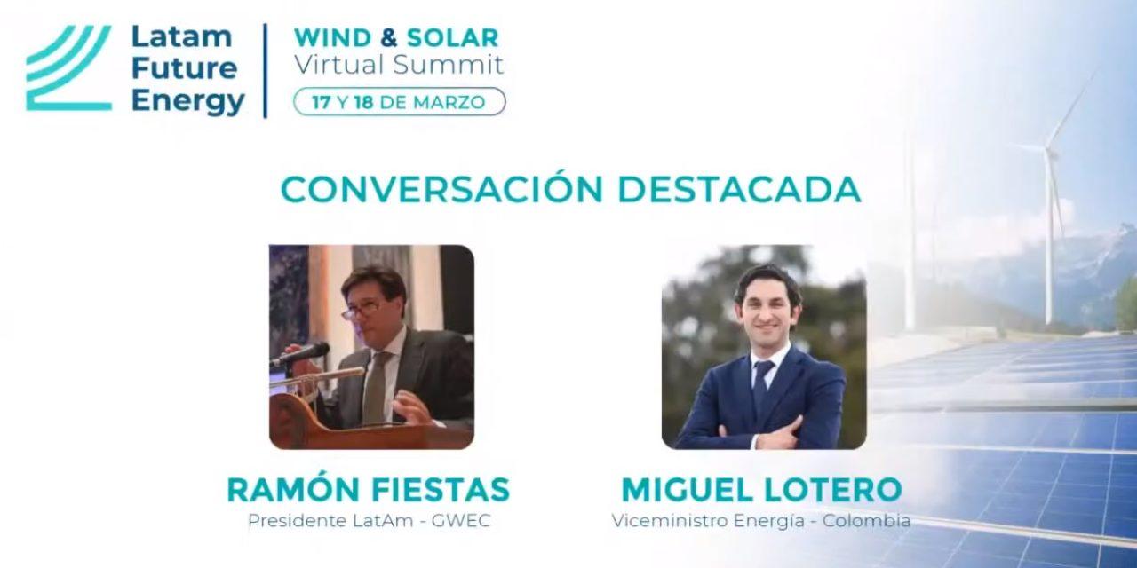 3800 MW que jugarían en la nueva subasta de renovables en Colombia tienen concepto de conexión