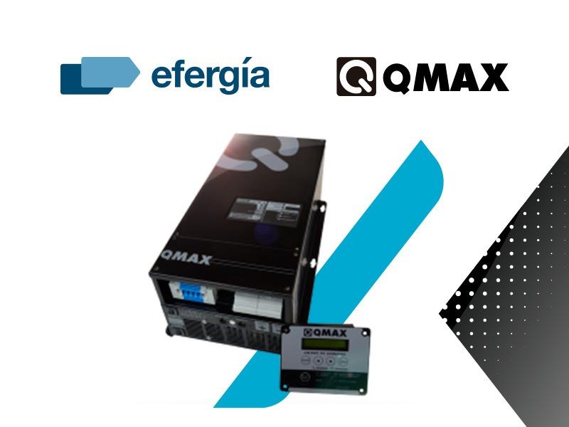 Efergía se expande en el mercado de la Generación Distribuida con un acuerdo estratégico con Qmax