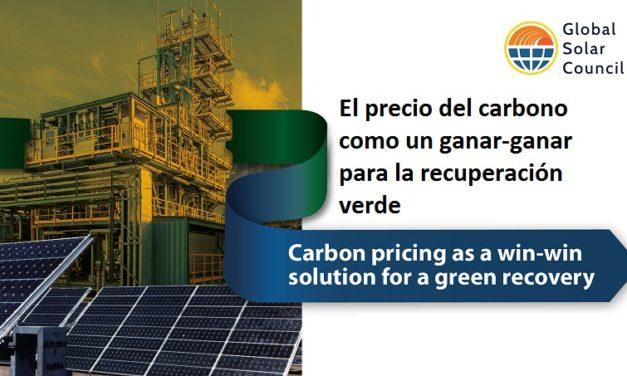 Global Solar Council lanza la iniciativa» Worldwide Carbon Price» para promover impuestos verdes