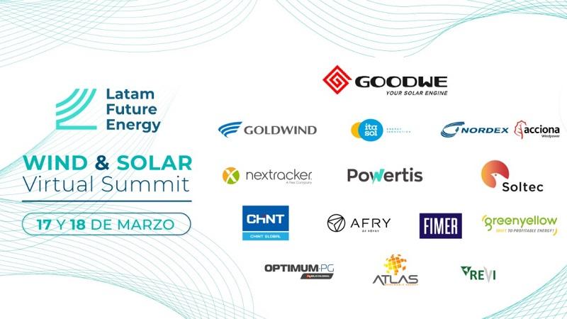 Enercon, GE Renewable Energy, Nordex, y Vestas dialogarán sobre el futuro eólico en la región