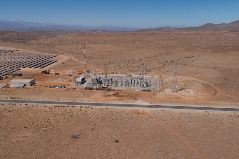 Parque Fotovoltaico La Huella (87 MWp) realiza conexión hasta la subestación Don Héctor en Chile