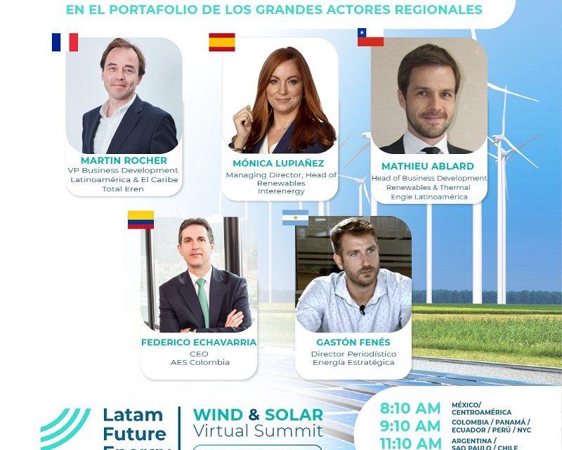 AES, Engie, Interenergy y Total Eren presentarán su estrategia para proyectos eólicos en la región