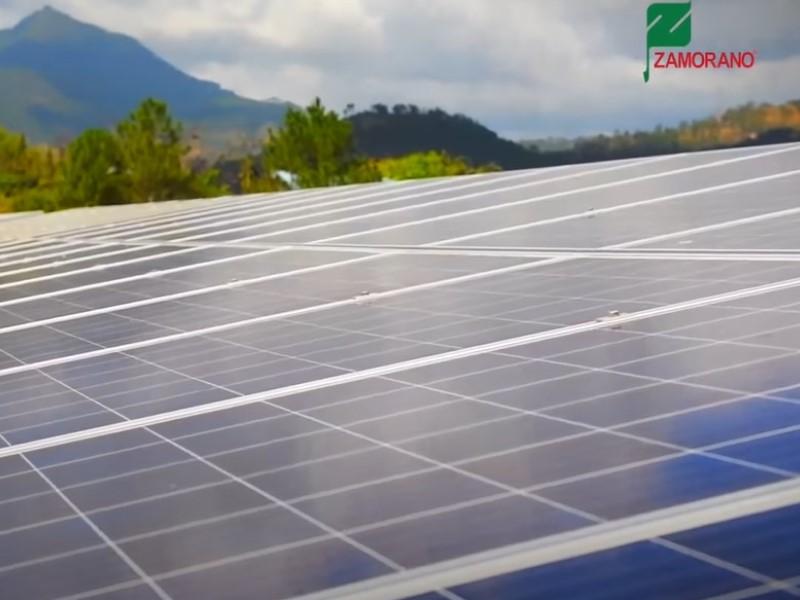 Zamorano inaugura la segunda fase de su parque fotovoltaico