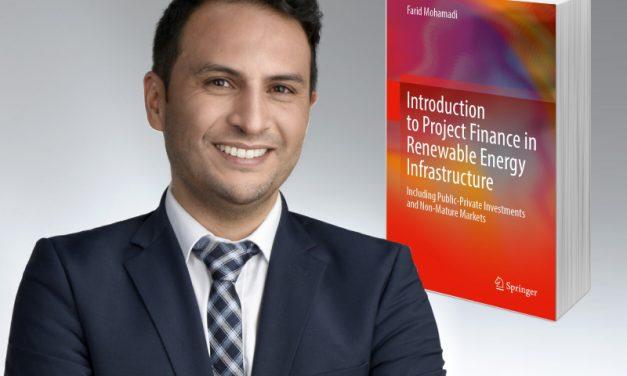 Farid Mohamadi lanzó un libro con historias, análisis y perspectivas del Project Finance para energías renovables