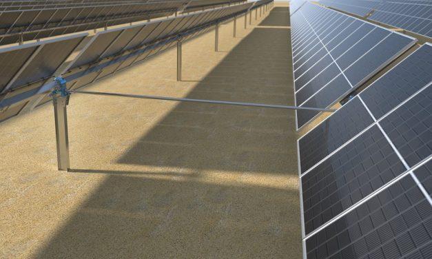 Trina Solar presenta a nivel global su rastreador Agile 1P de doble fila, impulsando la ganancia de energía en 8%