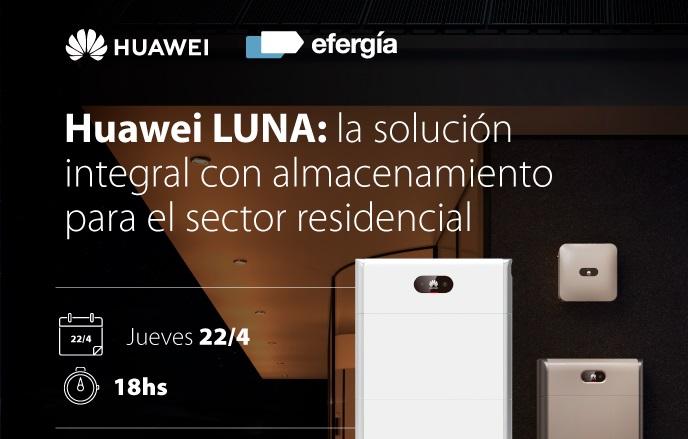 Presentarán «en directo» sistema de almacenamiento inteligente de Huawei para el sector residencial en Argentina