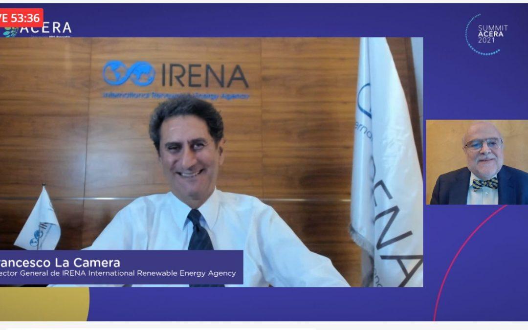 Desde IRENA aseguran que Chile será un actor estratégico mundial en la producción de hidrógeno verde