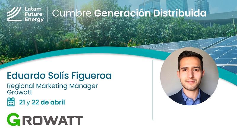 Eduardo Solís de Growatt: «No siempre el inversor más grande es el mejor inversor para tu instalación»