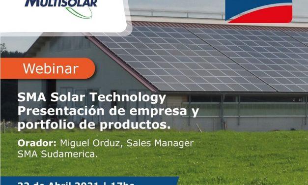 Multisolar presenta el porfolio de productos SMA para el mercado solar de Argentina