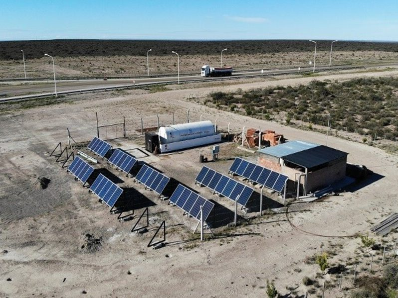Chubut: Vialidad Nacional inicia la instalación de su parque solar para autoabastecimiento