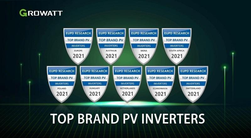 Growatt recibe una nueva distinción internacional como fabricante de inversores fotovoltaicos