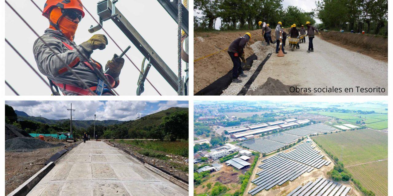 Celsia invirtió 80 millones de dólares en energías renovables y expansión de su red eléctrica