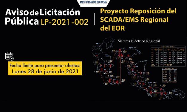 Avanza la licitación del sistema SCADA para el mercado eléctrico de América Central