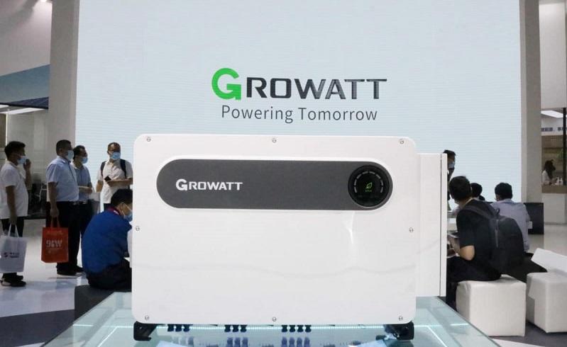 Growatt lanza nuevo inversor de alta potencia en la exposición SNEC 2021 en Shanghai