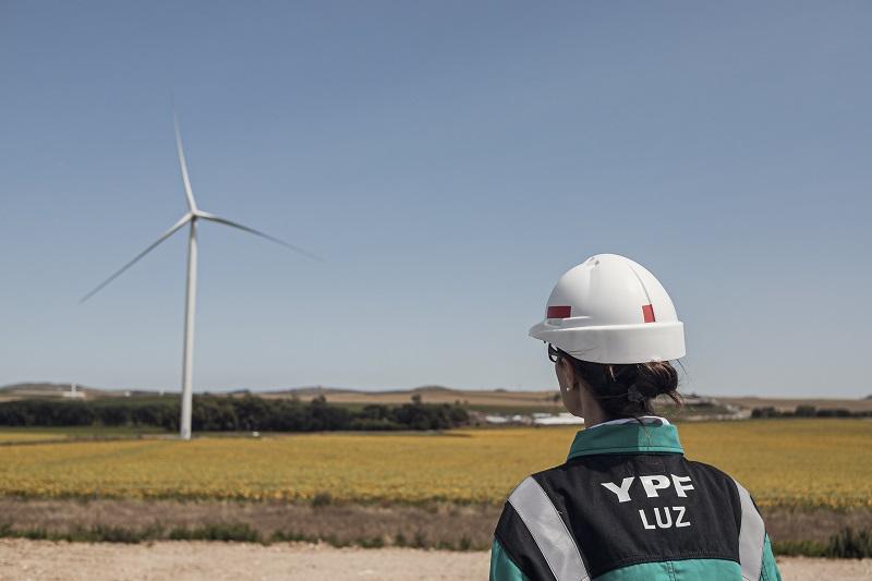 55% de factor de capacidad: Así celebra YPF Luz segunda etapa del Parque Eólico Los Teros