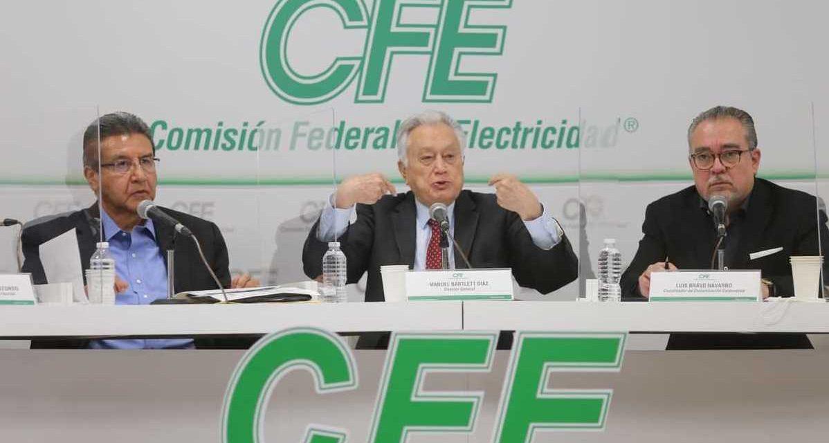 La Comisión Federal de Electricidad no contempla a las renovables en sus futuros proyectos