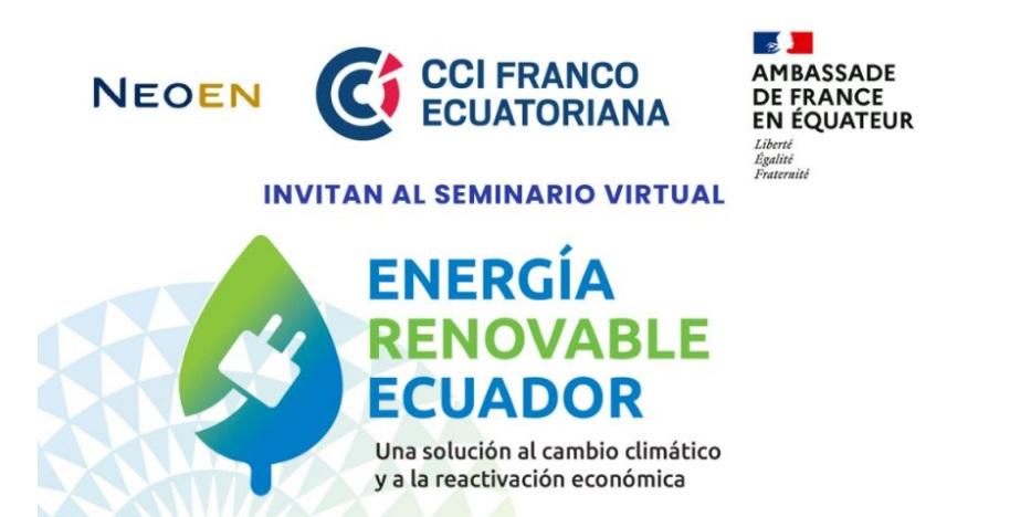 Presentan casos de éxito en el desarrollo de proyectos de energía renovable en Ecuador
