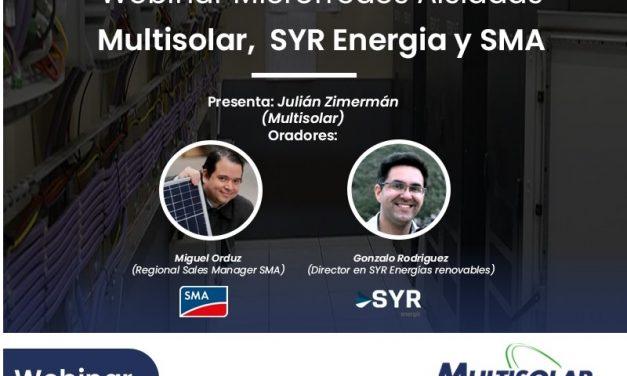 Multisolar, SYR Energía y SMA presentan su oferta para microrredes aisladas de la red