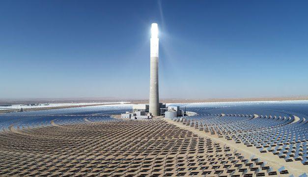 Avanza un proyecto de solar concentrada que es el triple de grande que «Cerro Dominador» en Chile