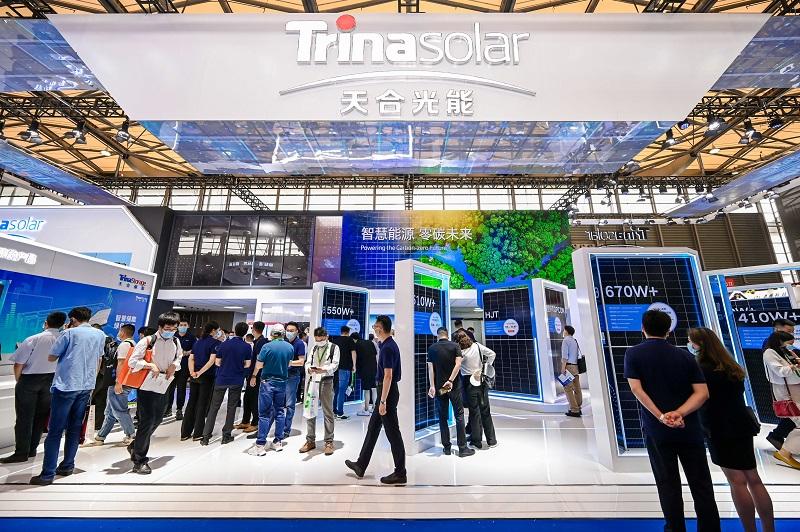 Trina Solar deslumbró en una feria internacional con sus nuevos módulos y trackers