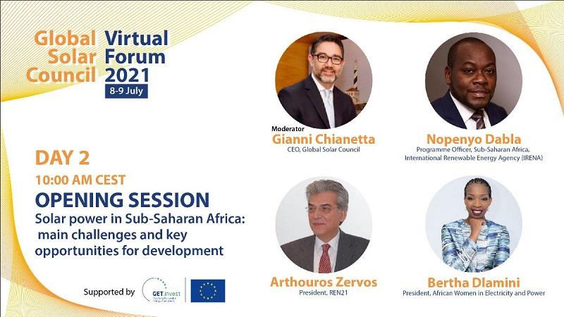 Global Solar Council tendrá hoy su jornada para analizar oportunidades de la fotovoltaica en África