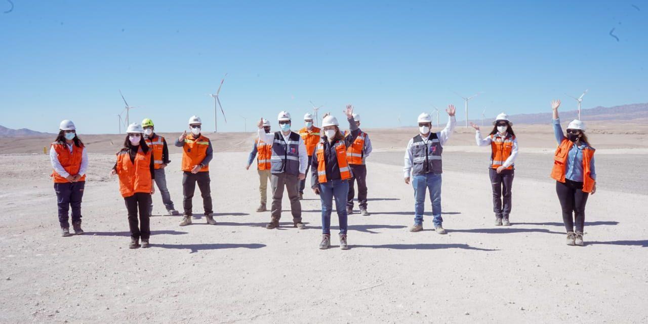 Mainstream energizó tres parques eólicos y uno fotovoltaico que suman 571 MW en Chile