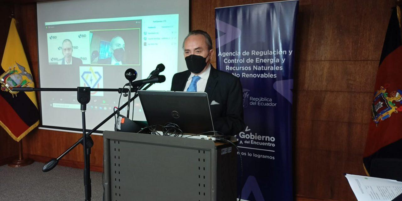 La ARC presentó la Estadística del Sector Eléctrico Ecuatoriano 2020