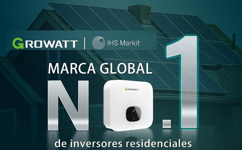 Ranking: Growatt se convierte en la marca líder de inversores residenciales a nivel mundial
