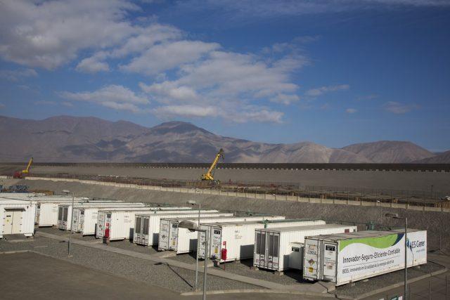 AES cerraría el año con más de 160 MW de almacenamiento con baterías combinados con proyectos renovables en Chile
