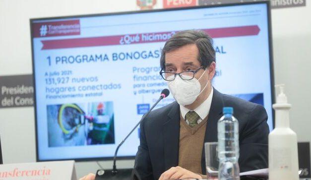 Gobierno de Transición deja 15 proyectos renovables con US$ 1,300 millones de inversión en Perú