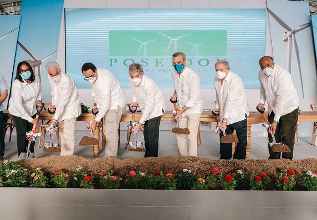 Gobierno formaliza inversión por USD 258 millones de Grupo Energético 23 para parque eólico en República Dominicana