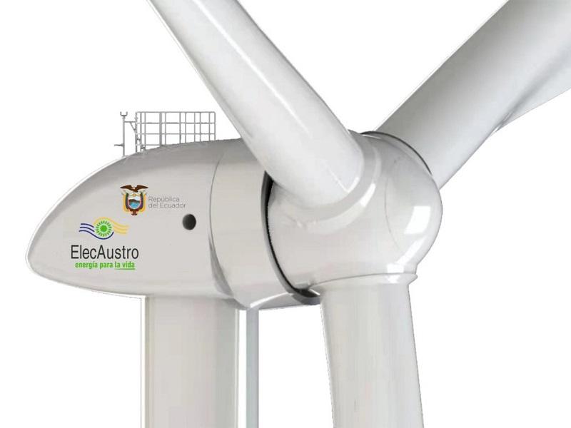 Elecaustro construye junto a una empresa china su primer proyecto eólico en Ecuador