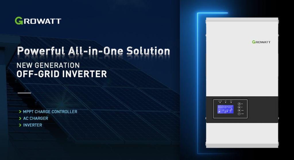 Growatt lanza una nueva generación de inversores para la energía solar sin conexión a la red