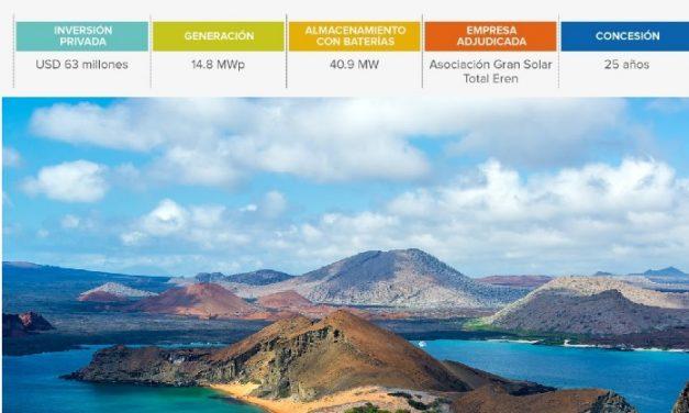 Total Eren se quedó con la adjudicación de fotoltaica+almacenamiento en Galápagos