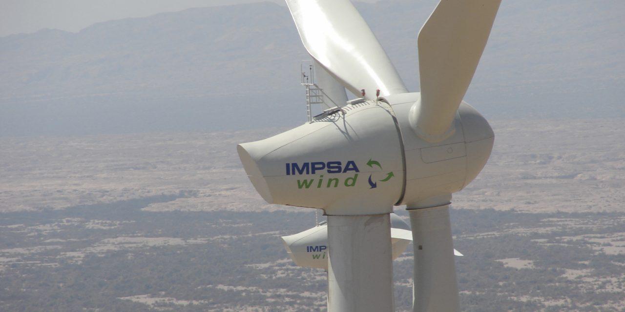 IMPSA desarrolla una nueva turbina eólica de 4,6 MW de potencia