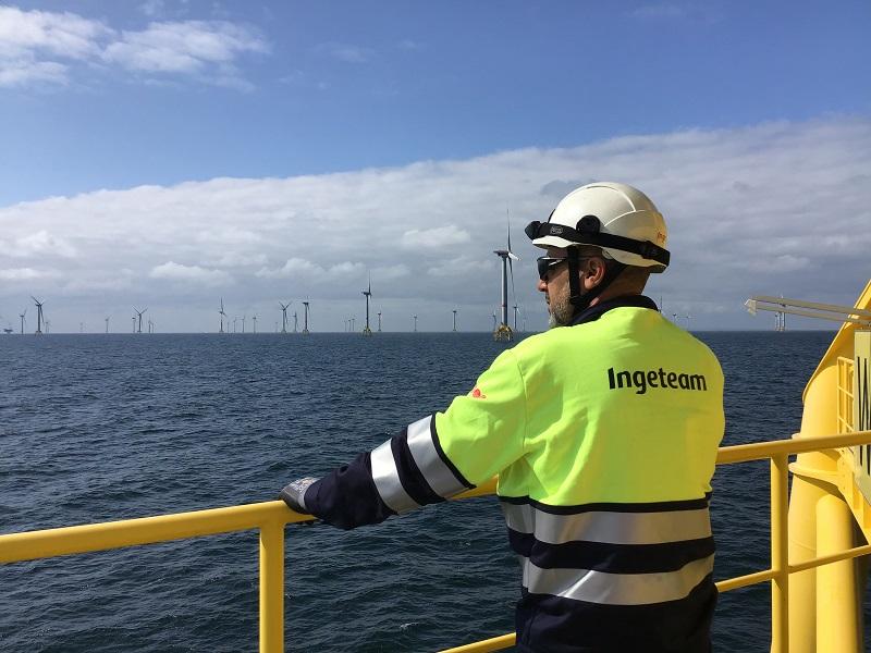 Ingeteam ahora lanzó una tecnología especializada en operación de parques eólicos offshore