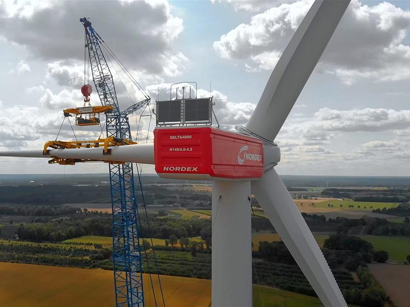 Nordex confirmó un pedido de 41 turbinas para un parque eólico de 200 MW en Colombia