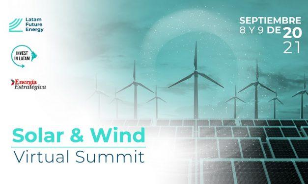 Empresas líderes y autoridades se reunirán en el summit «Solar and Wind» y está abierta la inscripción