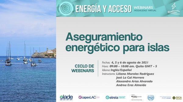 OLADE invita a tres capacitaciones especialmente diseñadas para el sector energético