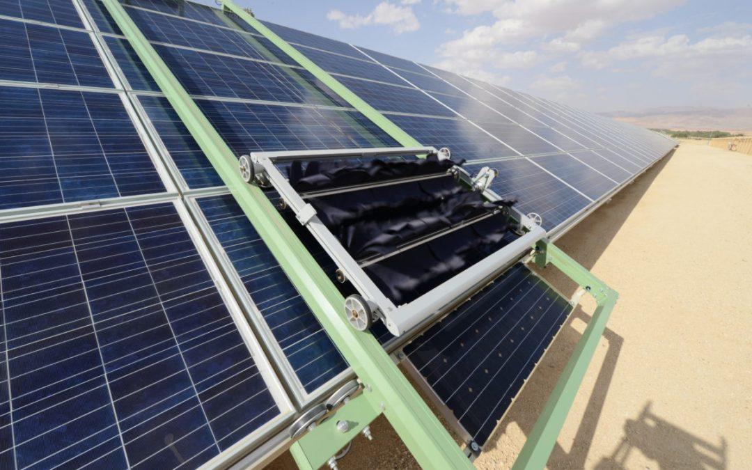 Ecoppia desarrolla nuevos sistemas de microfibra y mopeados para mantenimiento de módulos fotovoltaicos