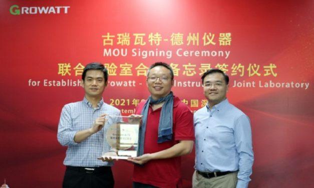 Growatt inaugura un laboratorio conjunto a Texas Instruments para aplicaciones de energía sostenible