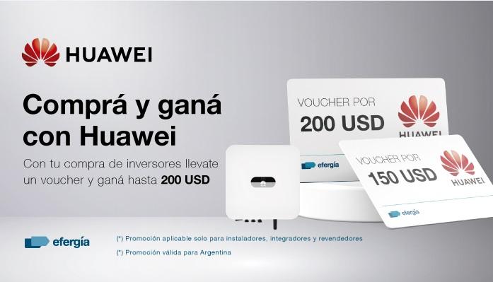 Lanzamiento de la promoción para instaladores e integradores de Huawei Solar en Argentina