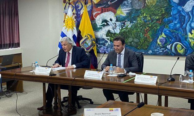 Ecuador y Uruguay ratificaron su convocatoria a inversores en una reunión con Olade