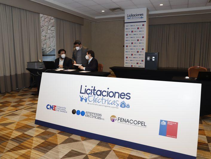 Se fijaron las condiciones de la segunda etapa de la Licitación de Suministro de Chile